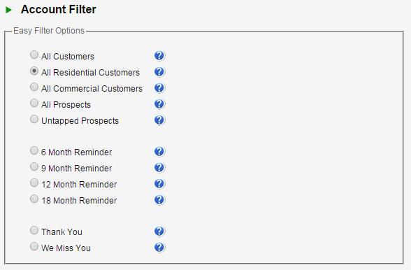 DIY - Account Filter
