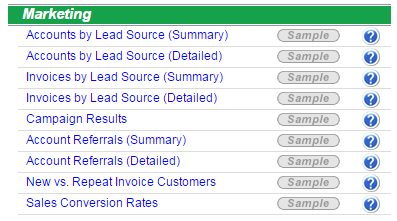 Marketing - Reports